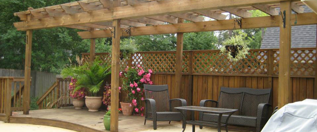 Deck Builder, Garden Structures, Pergolas & Arbors: Bossier City ...