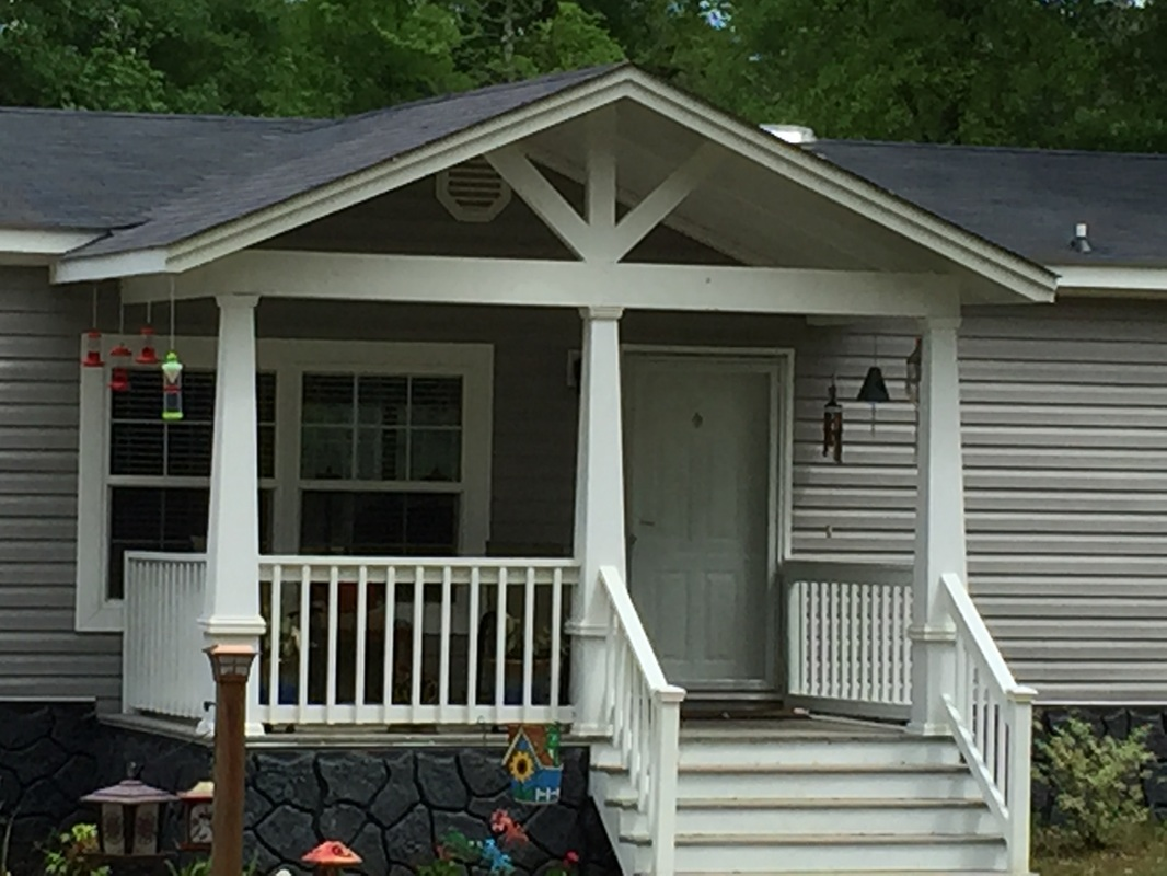 Gables minden bossier city shreveport la sunset for Porch roof types