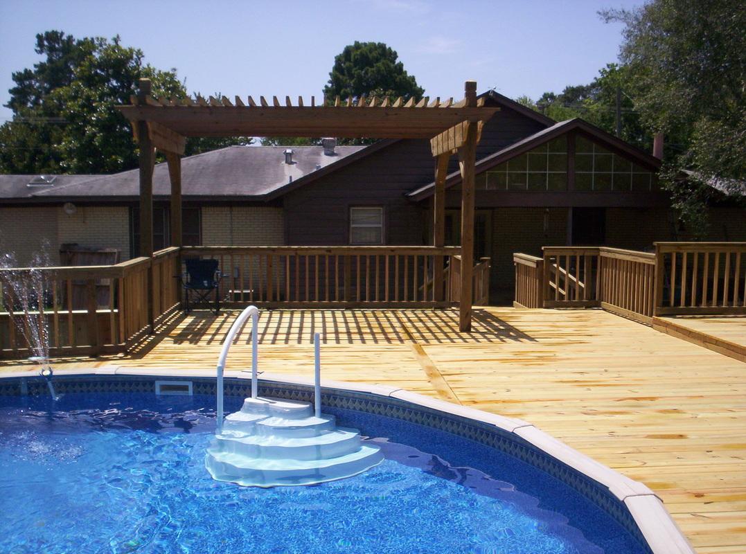 100 Backyard Oasis Ideas Above Ground Freeform Above Ground Pool Backyard Envy Pinterest