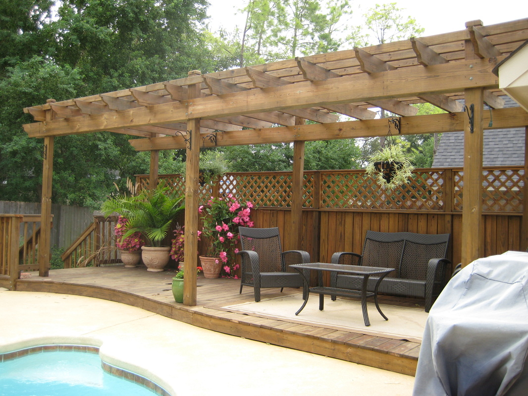 deck builder garden structures pergolas arbors bossier city shreveport minden la. Black Bedroom Furniture Sets. Home Design Ideas