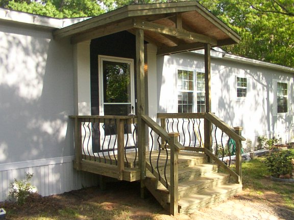 Mobile homes minden bossier city shreveport la Decks and porches for mobile homes